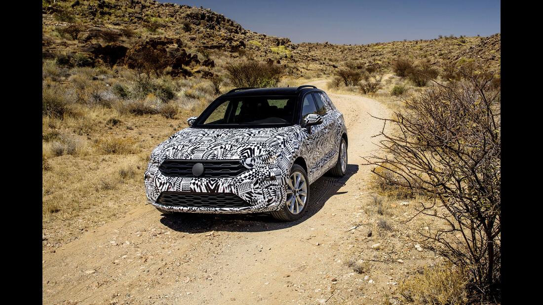 VW T-ROC Erlkönig Front