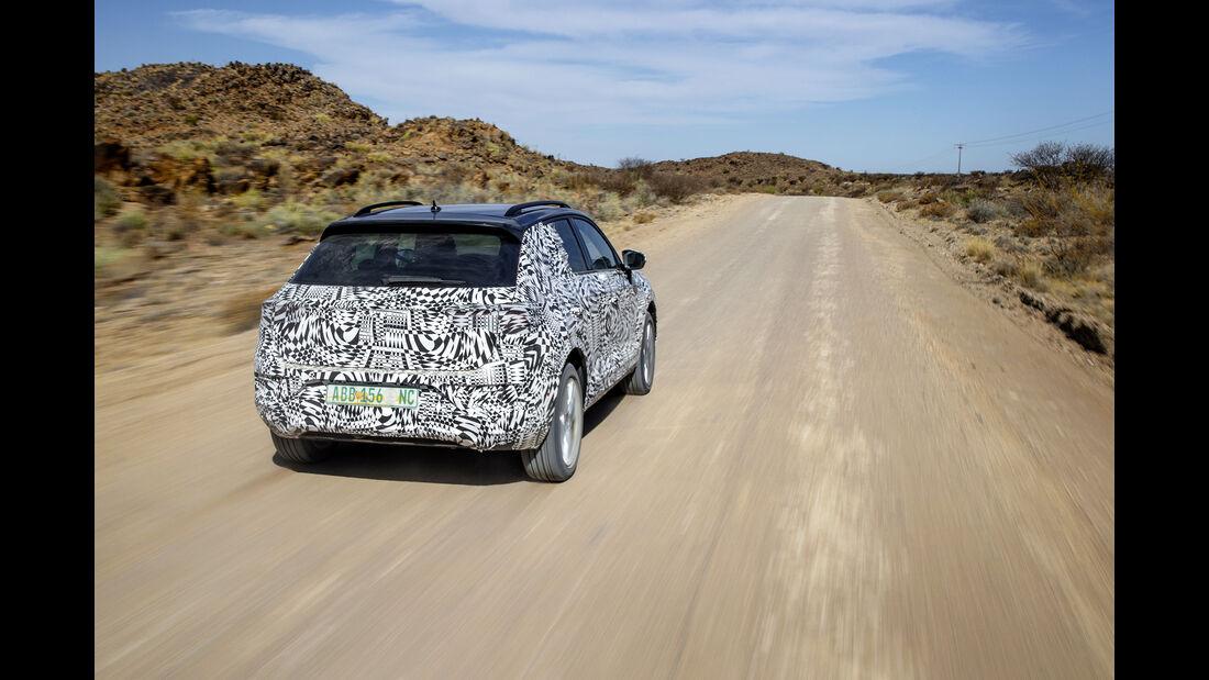 VW T-ROC Erlkönig Heck