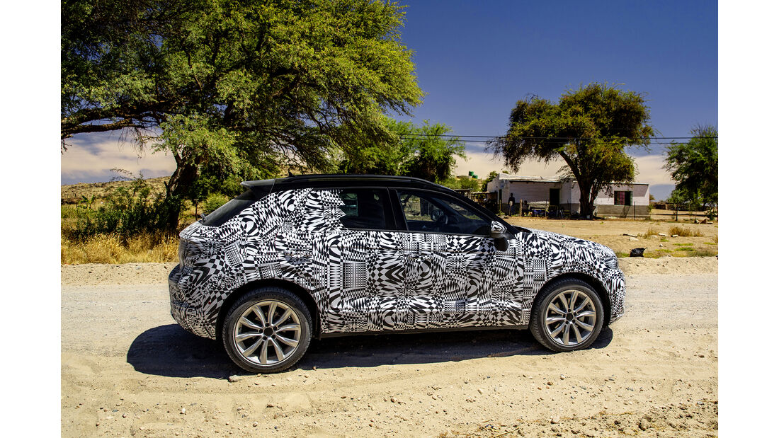 VW T-ROC Erlkönig Seite