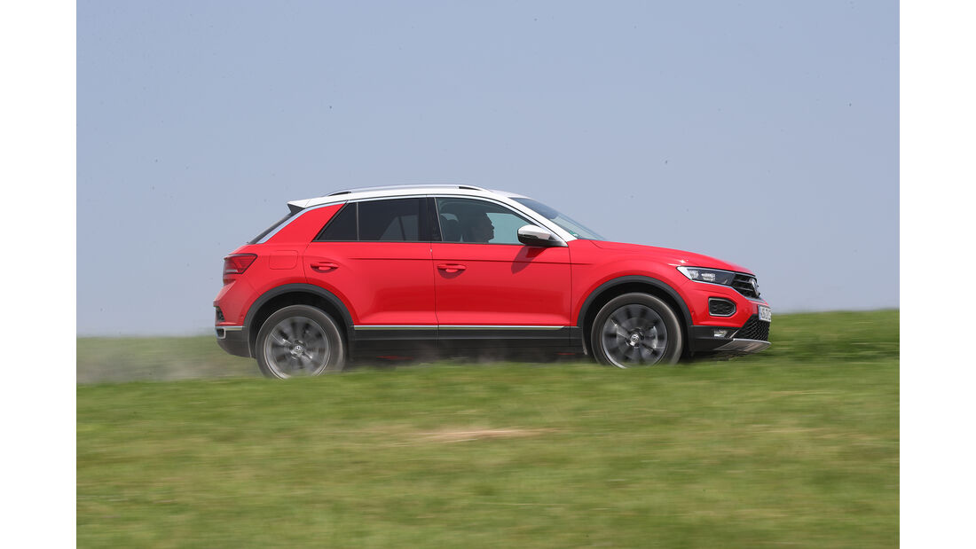 VW T-Roc 1.0 TSI, Exterieur