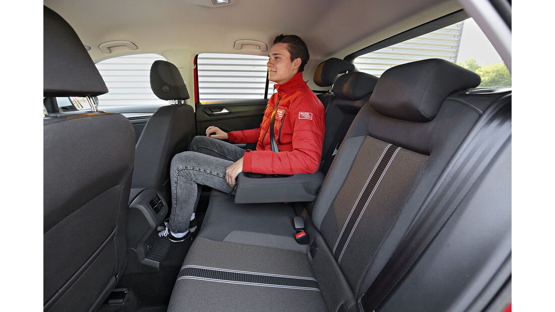 VW T-Roc 1.0 TSI, Interieur