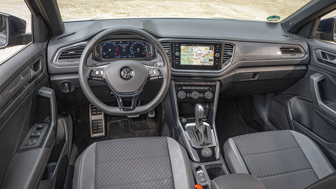 VW T-Roc 2.0 TDI 4Motion, Interieur