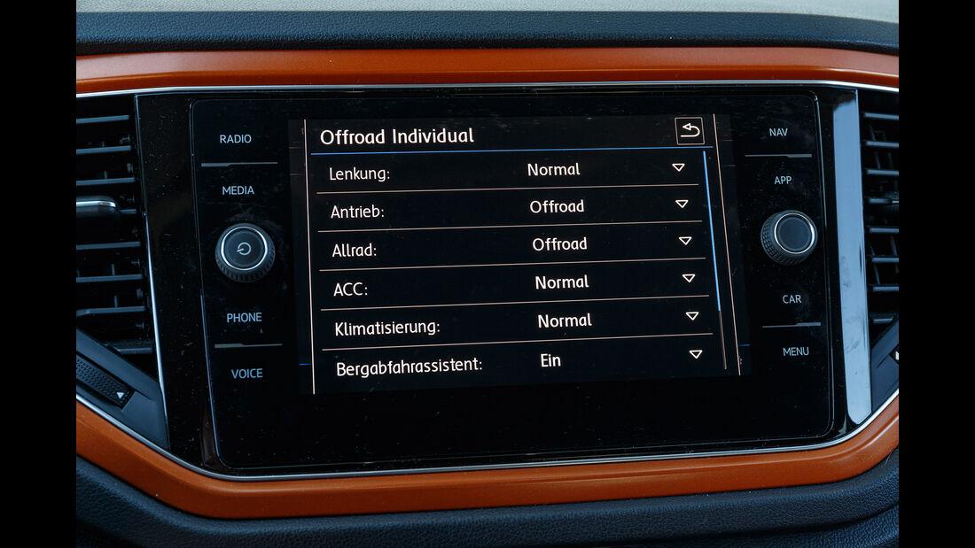 VW T-Roc 2.0 TDI 4Motion Style, Interieur