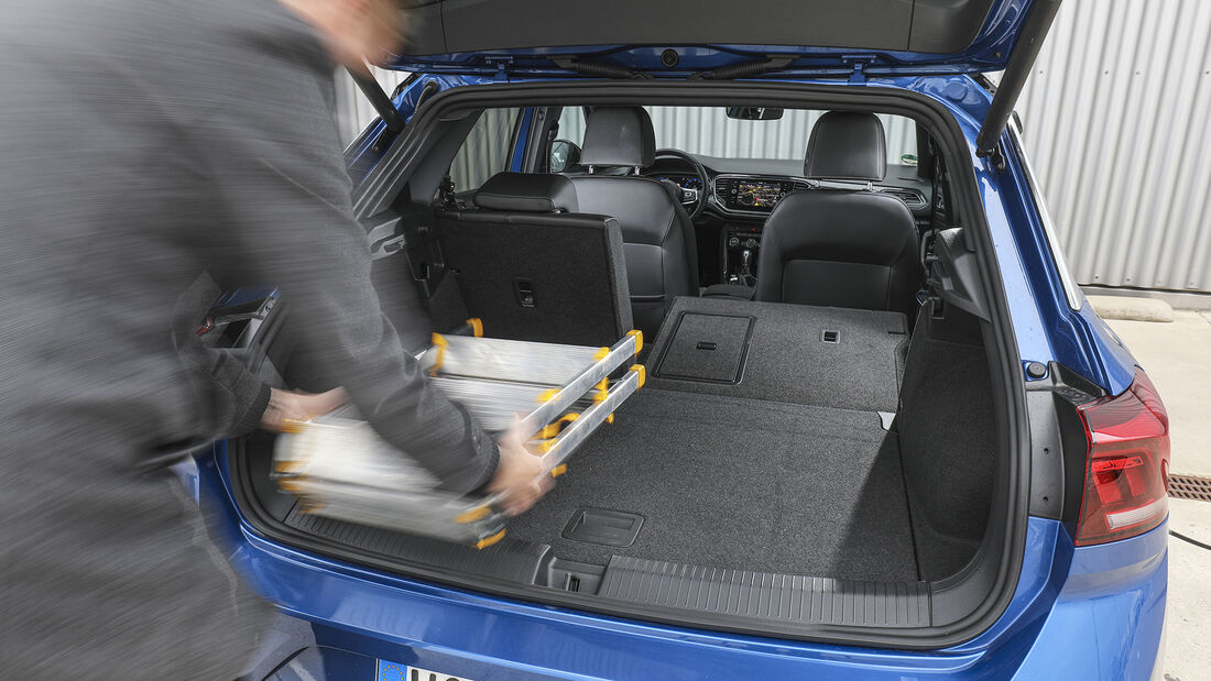 VW T-Roc 2.0 TSI 4 Motion, Interieur