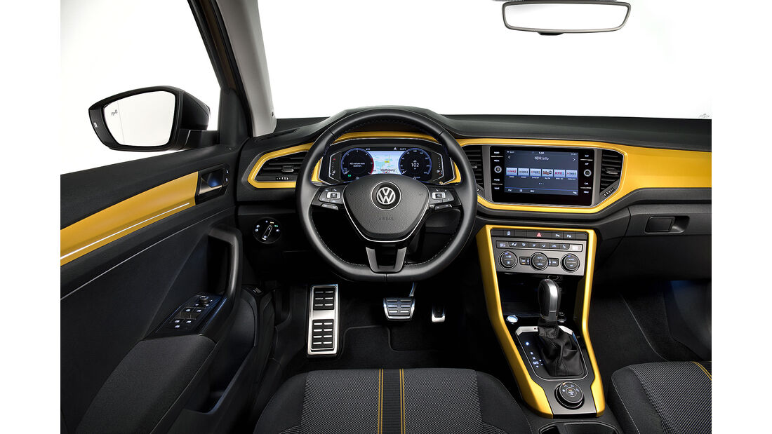 VW T-Roc (2018) Interior Cockpit