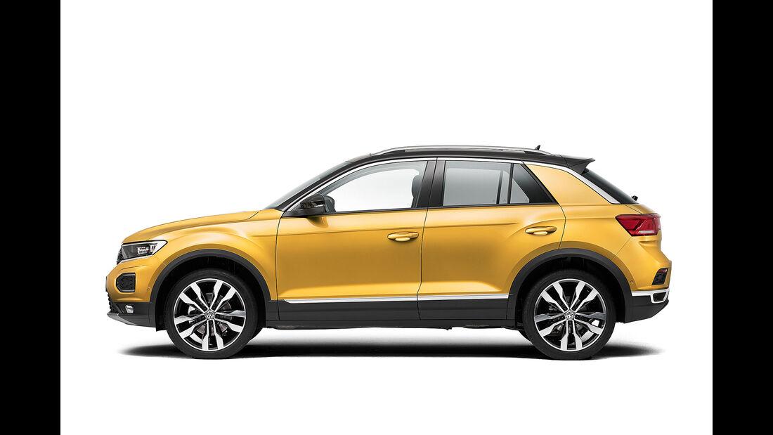 VW T-Roc (2018) Seitenansicht