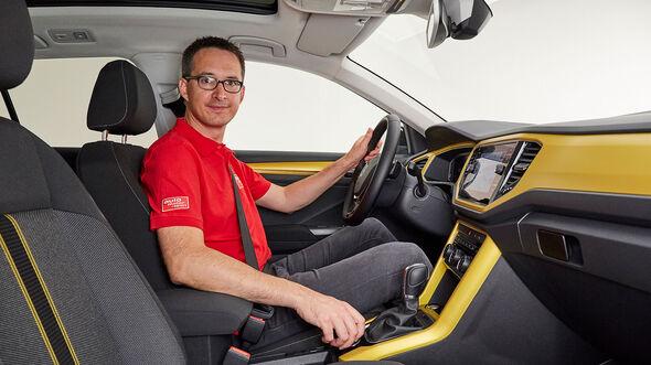 VW T-Roc (2018) Sitzprobe