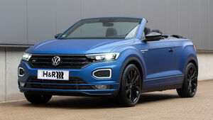 VW T-Roc Cabrio mit H&R Sportfedern
