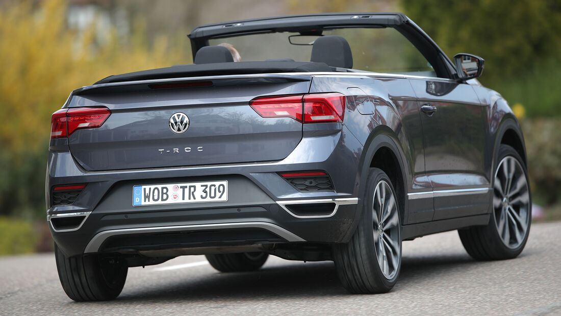 VW T-Roc Cabriolet, Exterieur