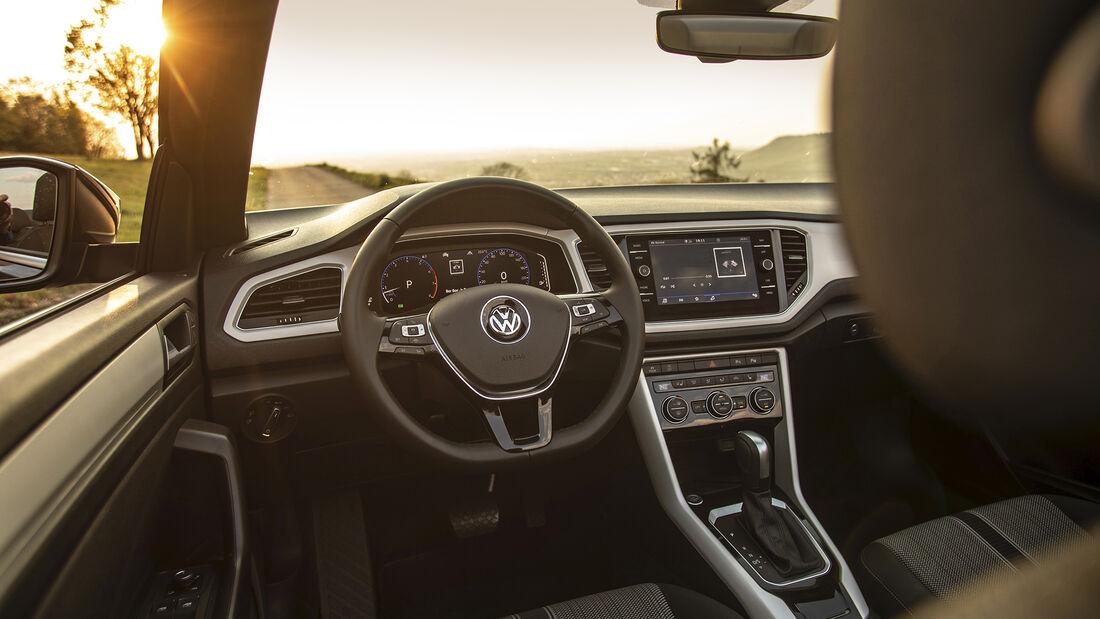 VW T-Roc Cabriolet, Interieur