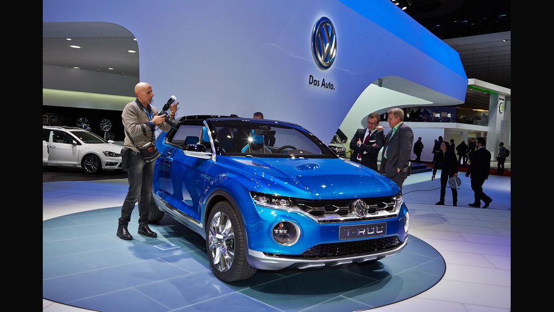 VW T-Roc, Genfer Autosalon, Messe 2014