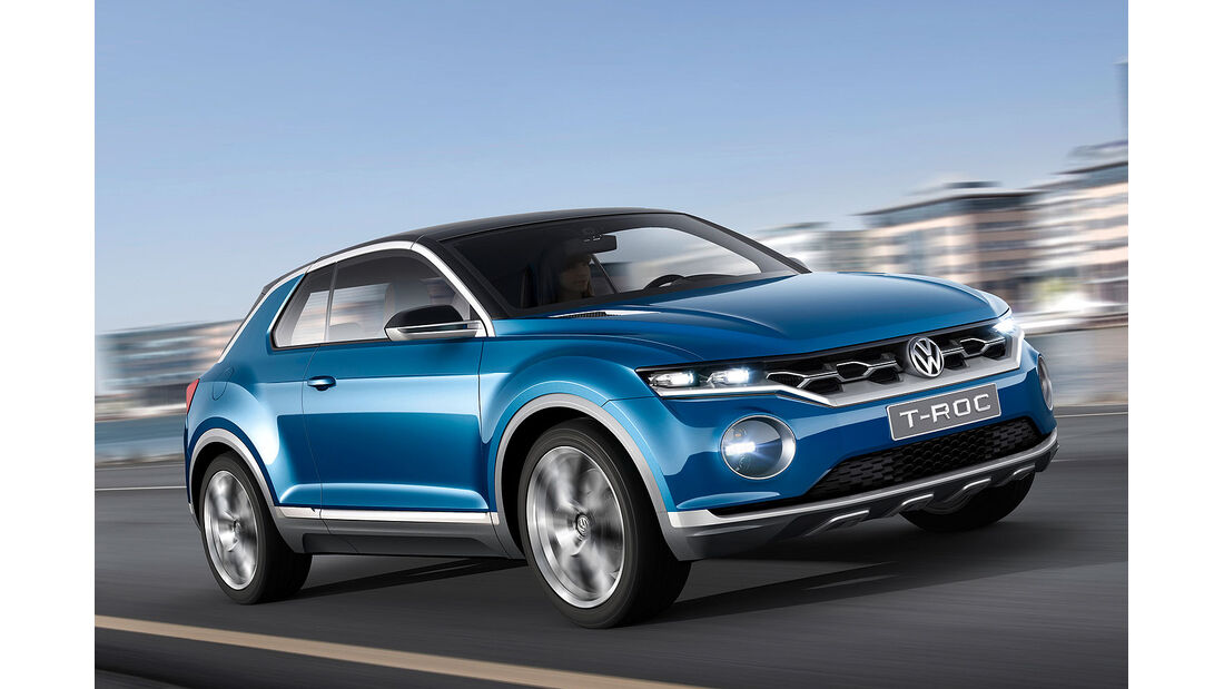 VW T-Roc Polo SUV Sperrfrist 28.2.2014