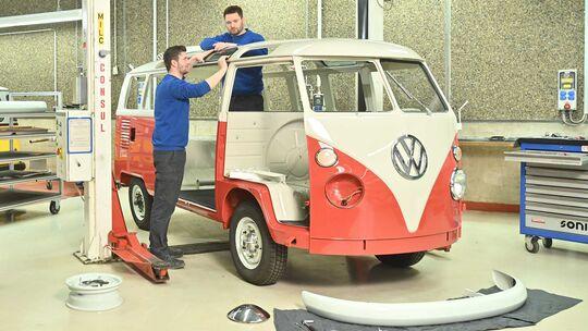 VW T1 Samba (1965) Restaurierung