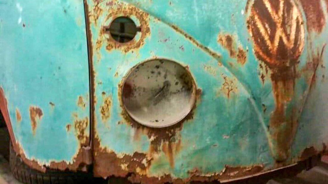 VW T1 Samba (1966) unrestauriert