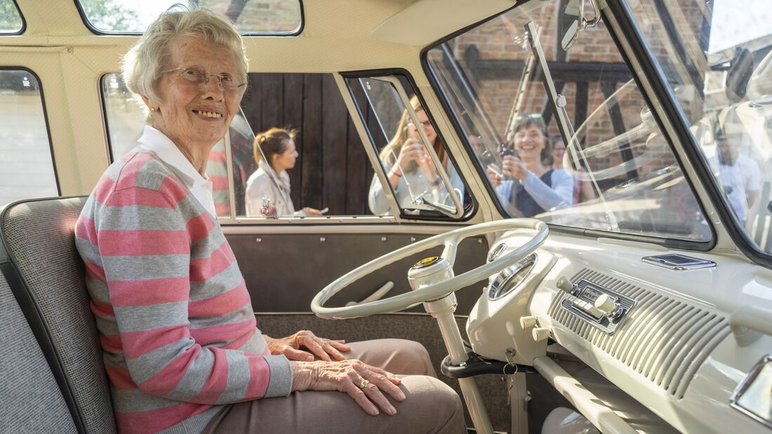 VW T1 Samba-Bus 1965 Restaurierung