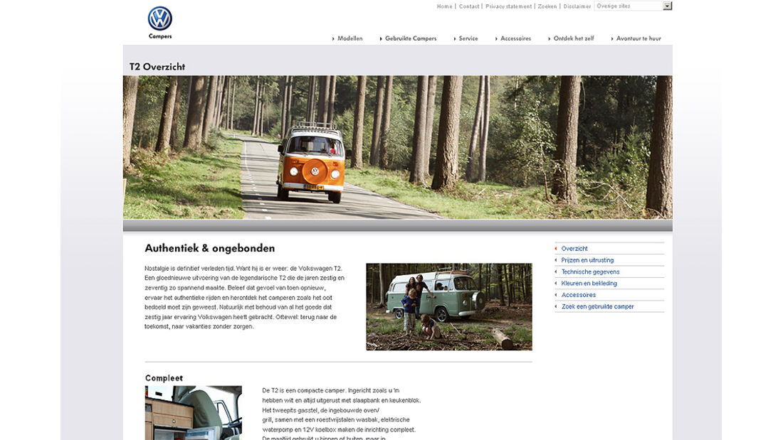 VW T2 Niederlande