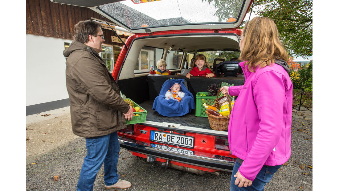VW T3 1.6 TD, Heckklappe, Kofferraum