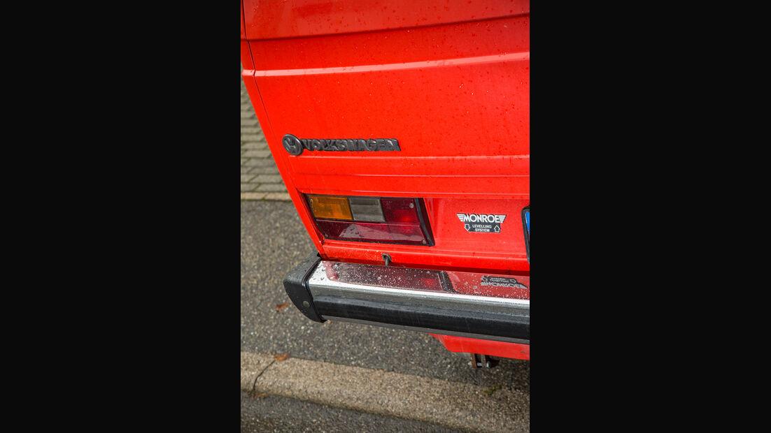 VW T3 1.6 TD, Heckleuchte