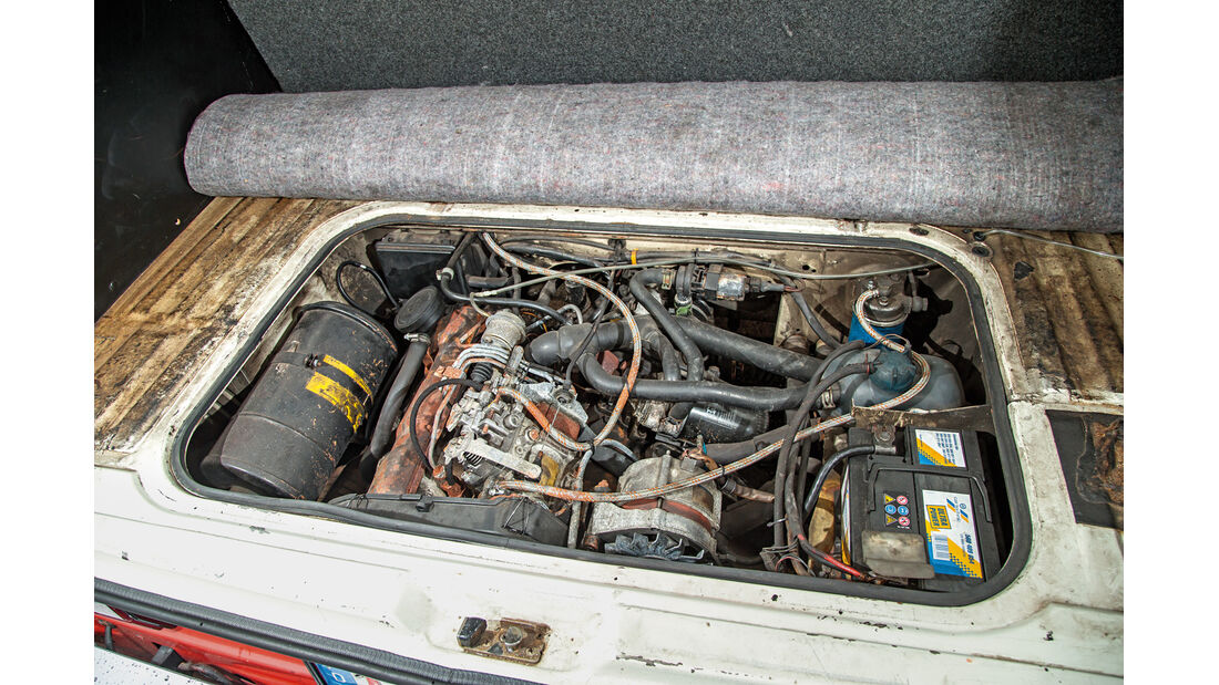 VW T3 1.6 TD, Motor