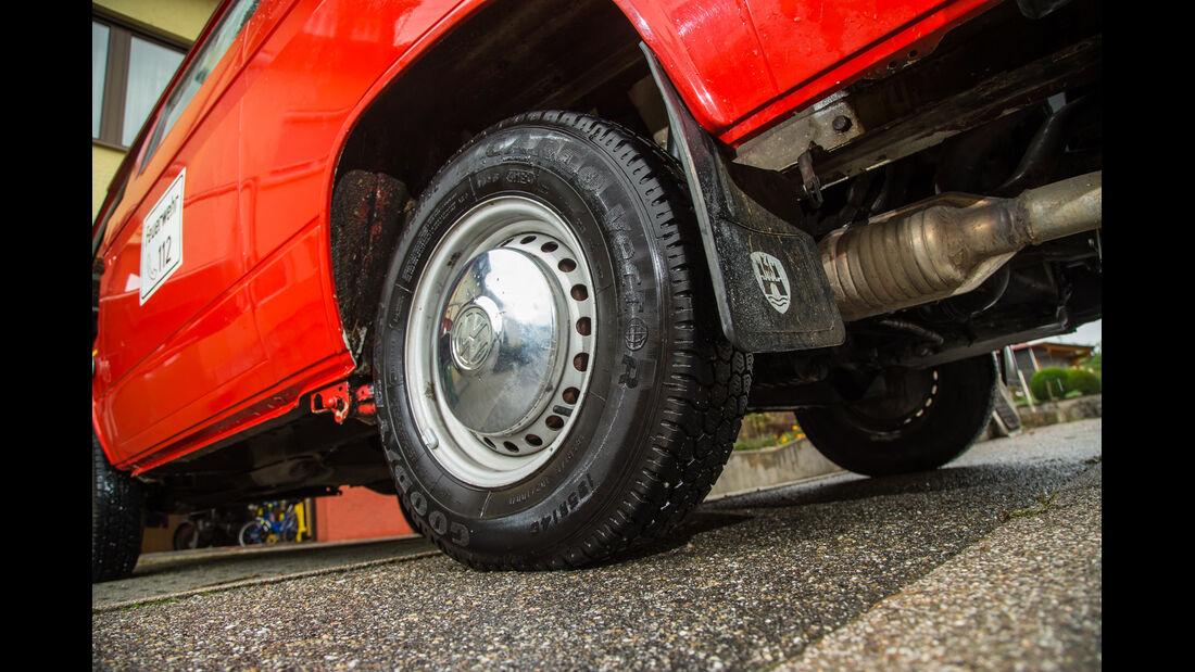 VW T3 1.6 TD, Rad, Felge
