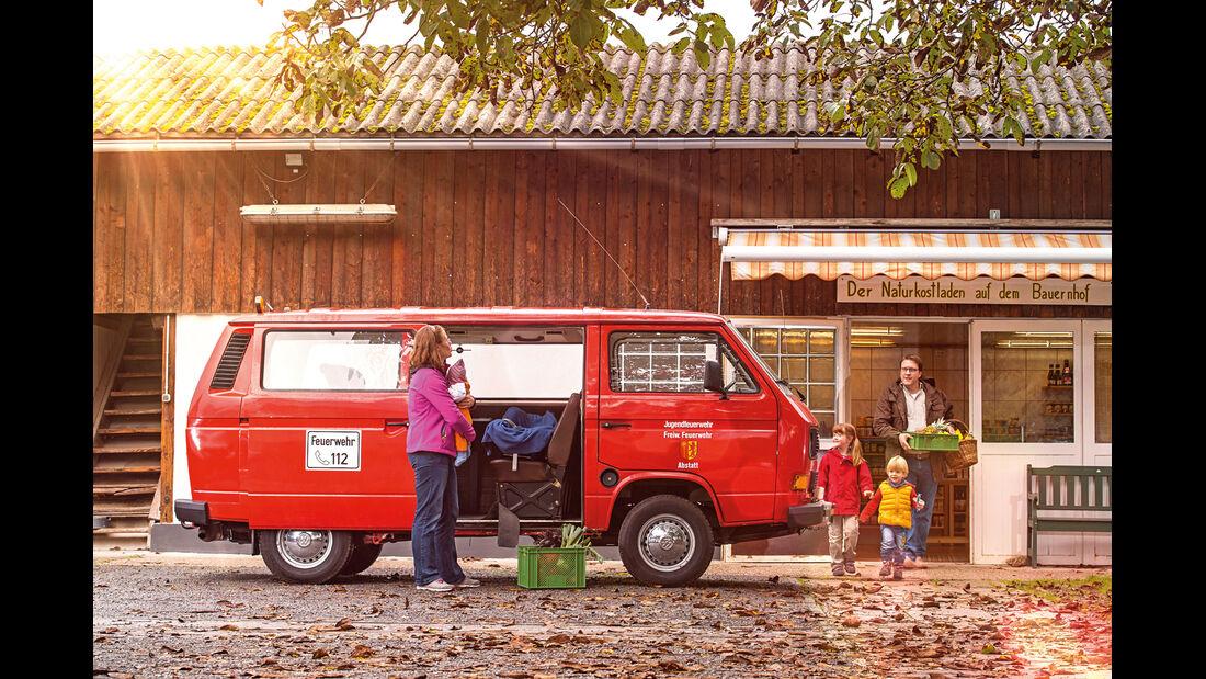 VW T3 1.6 TD, Seitenansicht
