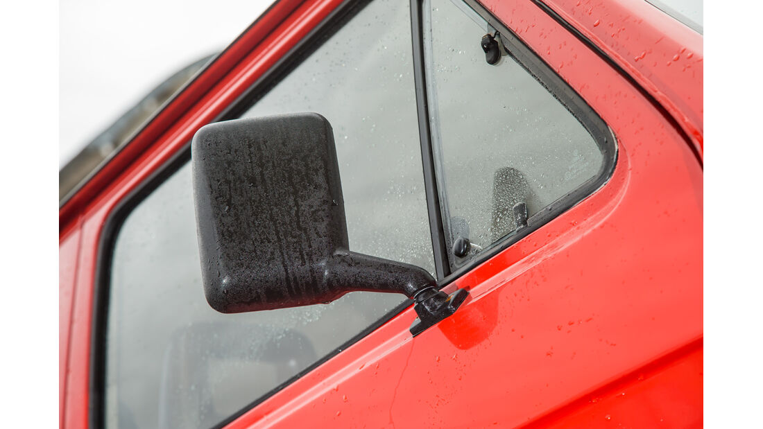 VW T3 1.6 TD, Seitenspiegel
