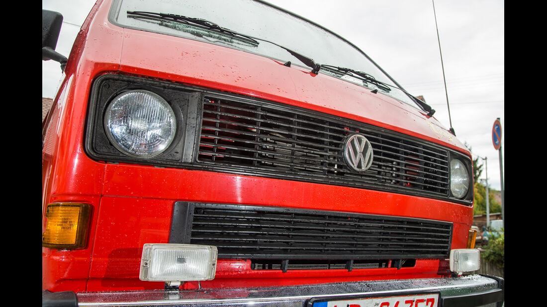 VW T3, Front, Kühlergrill