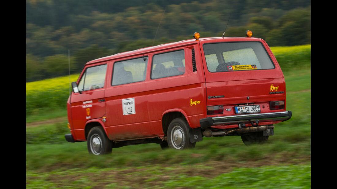 VW T3, Heckansicht