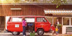 VW T3, Seitenansicht