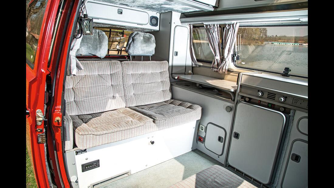 VW T3 Westfalia, Innenraum, Interieur