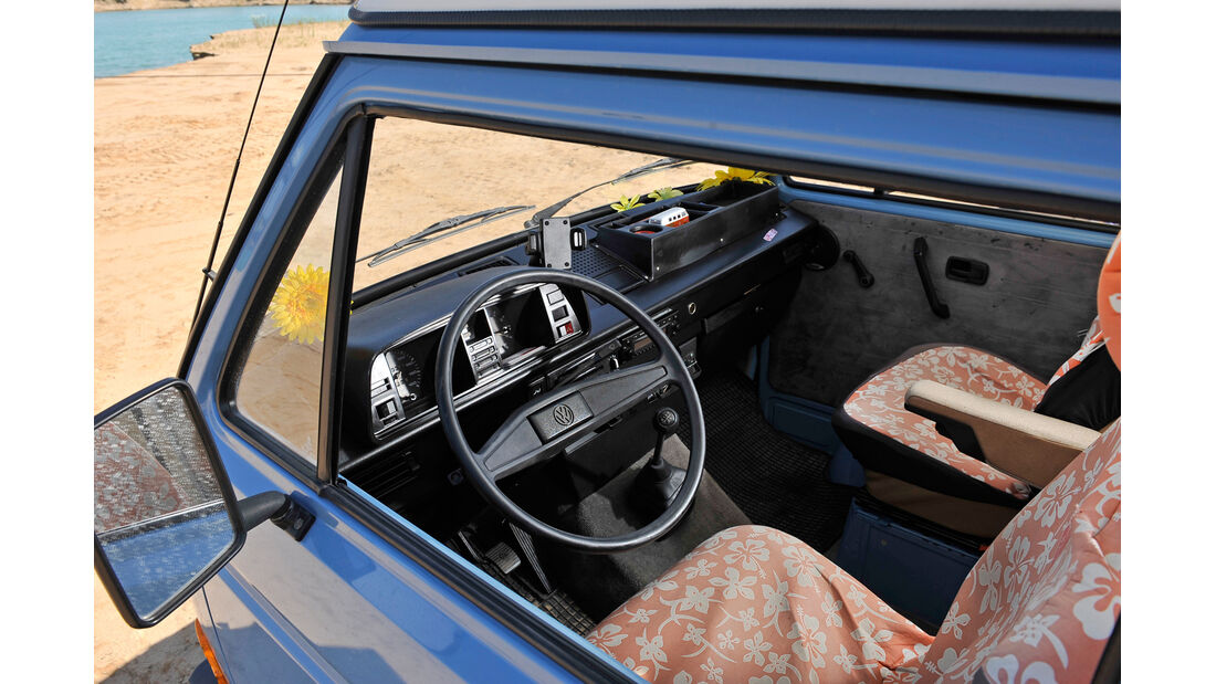 VW T3 Westfalia Joker, Cockpit