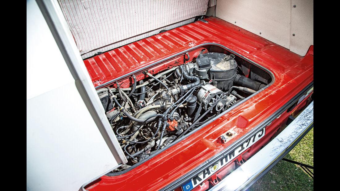 VW T3 Westfalia, Motor