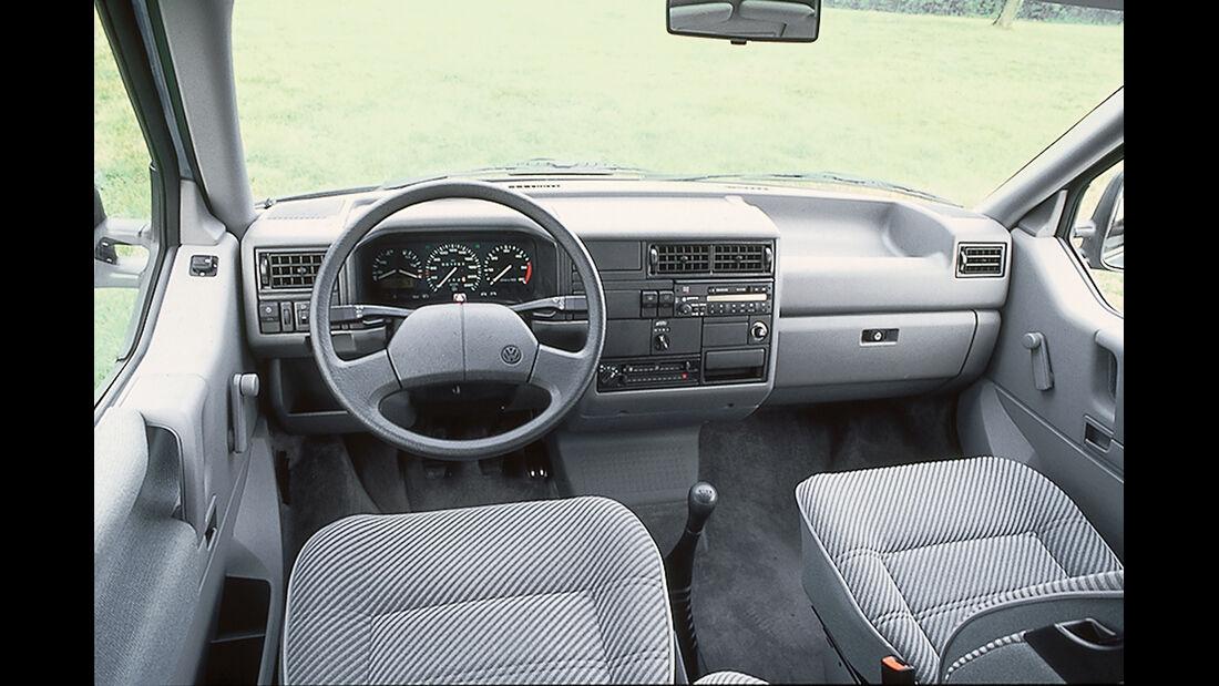 VW T4 2.5 TDI, Cockpit