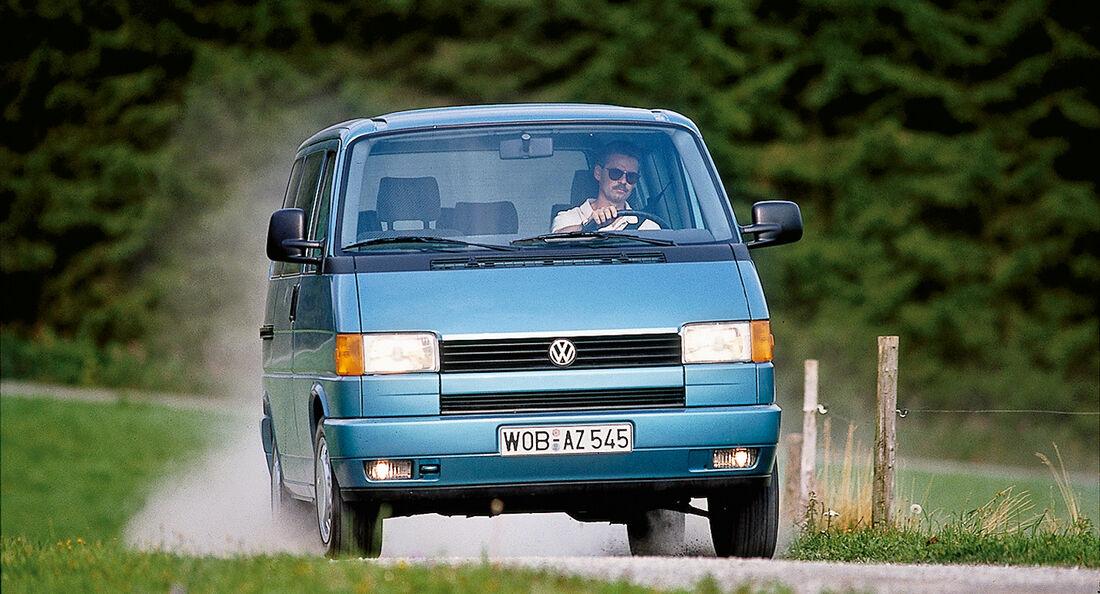 VW T4 2.5 TDI, Frontansicht