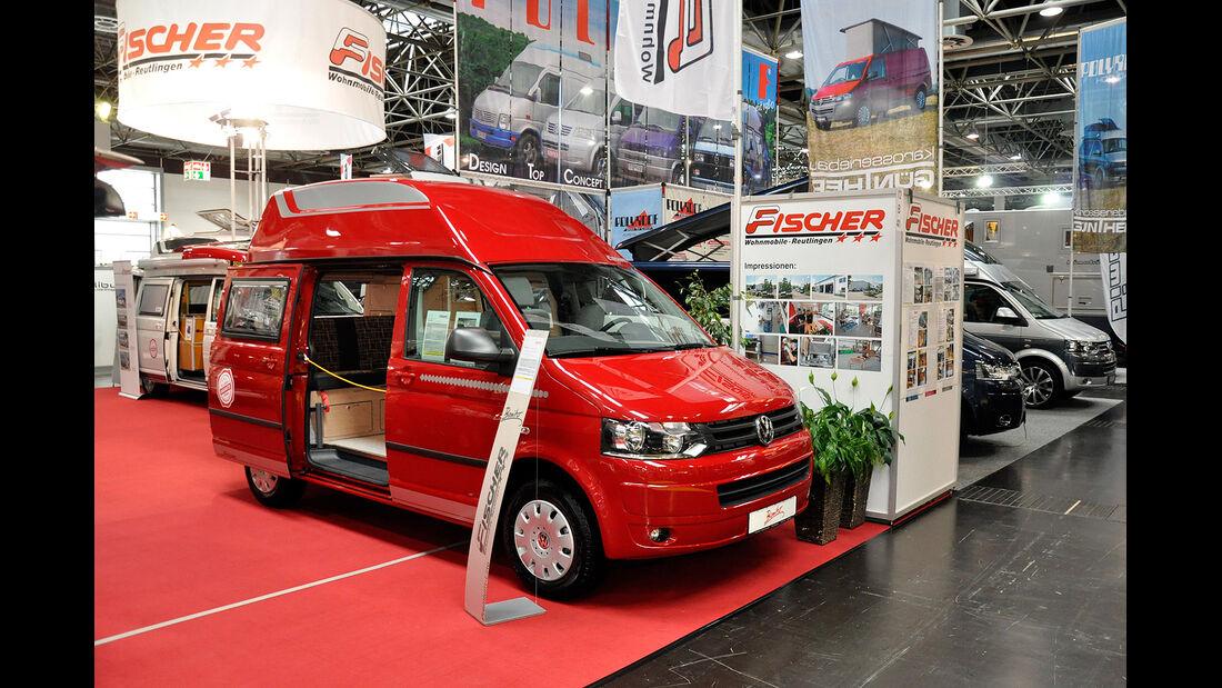 VW T5 Ausbauten, Fischer, Caravan Salon 2014