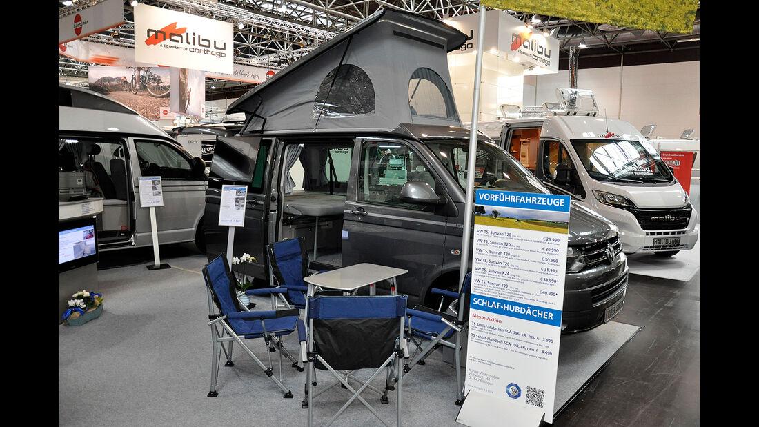 VW T5 Ausbauten, Köhler SunVan, Caravan Salon 2014