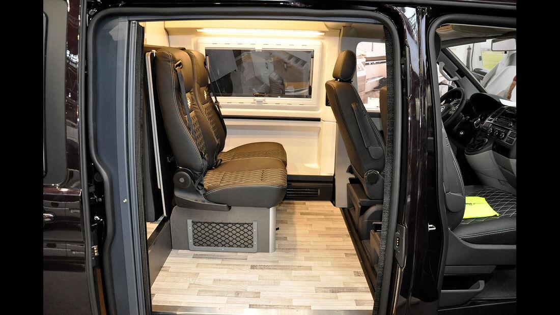 VW T5 Ausbauten, Westfalia Club Joker, Caravan Salon 2014