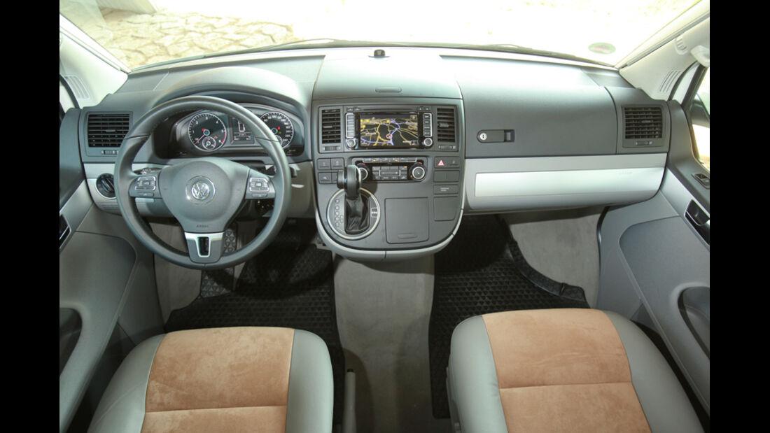 VW T5 California, Cockpit, Lenkrad