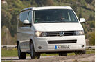 VW T5 California, Frontansicht, Front