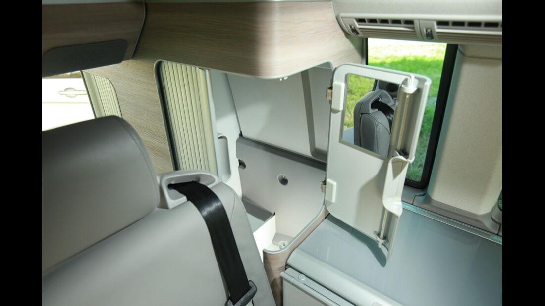 VW T5 California, Innenraum