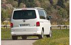 VW T5 California, Rückansicht, Heck