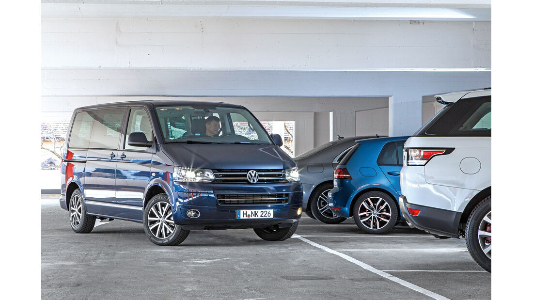 VW T5 Multivan, Frontansicht