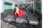 VW T5 Multivan, Ladefläche