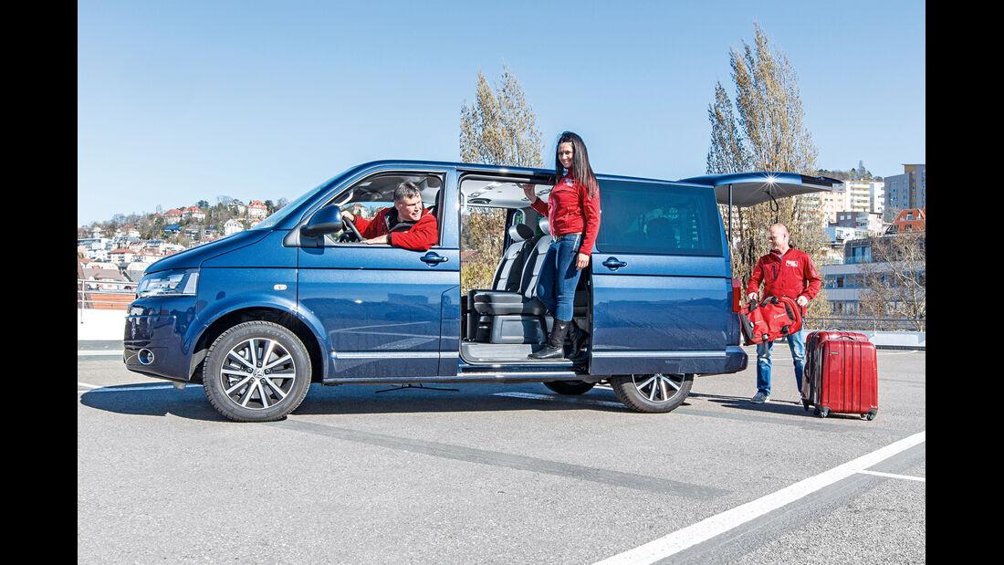 VW T5 Multivan, Seitenansicht
