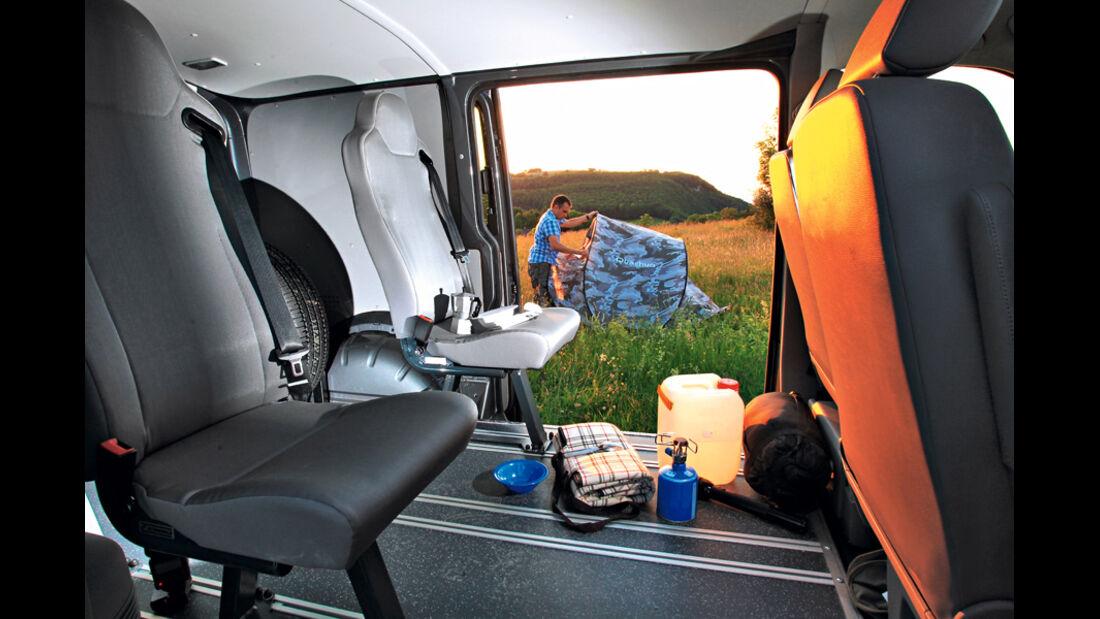 VW T5 Rockton, Innenraum