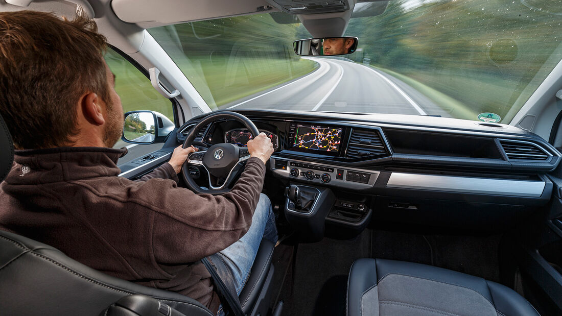 VW T6.1 Multivan 2.0 TDI, Interieur