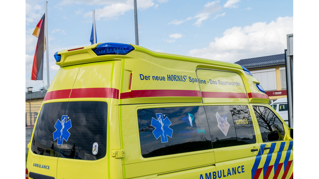 VW T6 Krankenwagen Dach hinten
