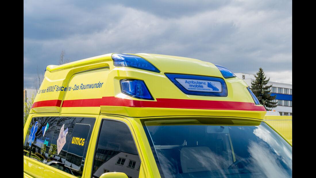 VW T6 Krankenwagen Dach vorne
