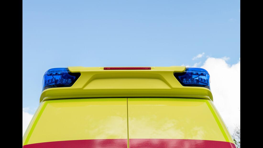 VW T6 Krankenwagen Rückseite