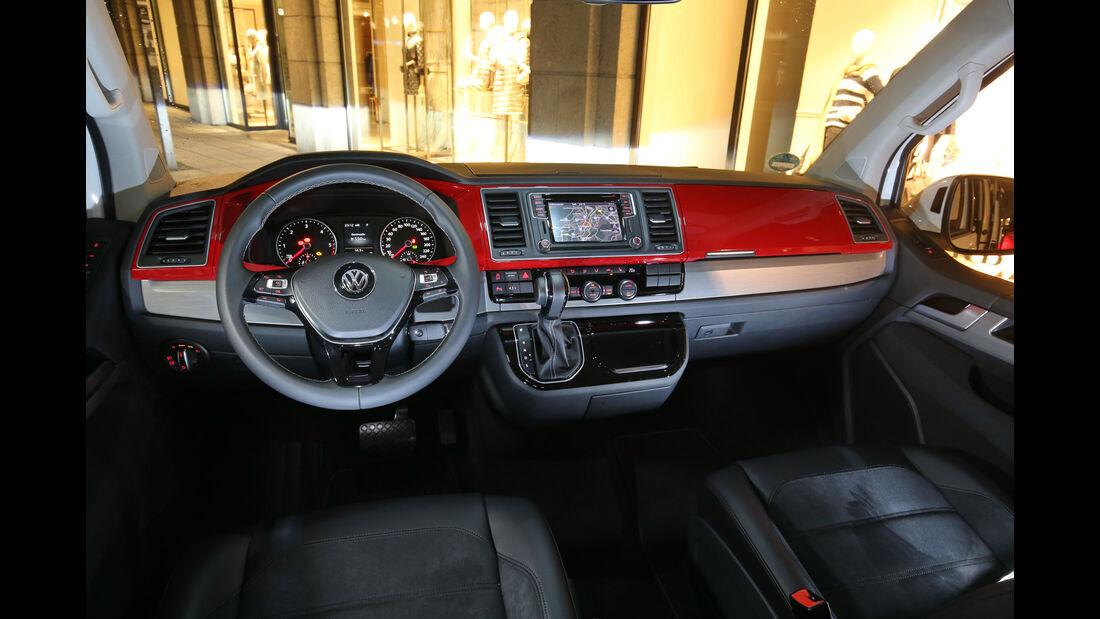 VW T6 Multivan 2.0 TDI, Cockpit